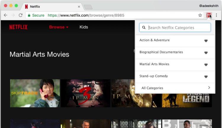 Netflix Categories: Cómo acceder a las categorías secretas de Netflix