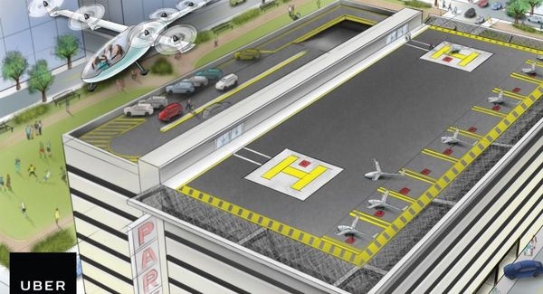 Uber planea crear autos voladores