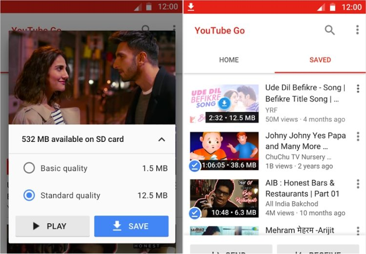 YouTube Go: Cómo ver videos de YouTube sin conexión