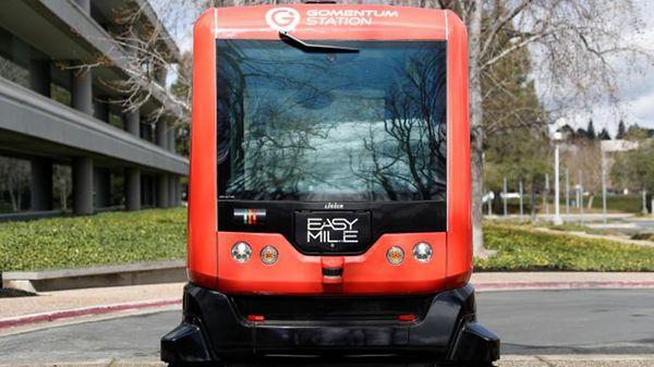 Cómo es el autobús con piloto automático que circulará por las calles de San Francisco