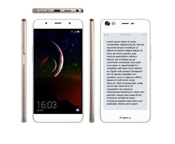 Cómo es el novedoso smartphone con dos pantallas
