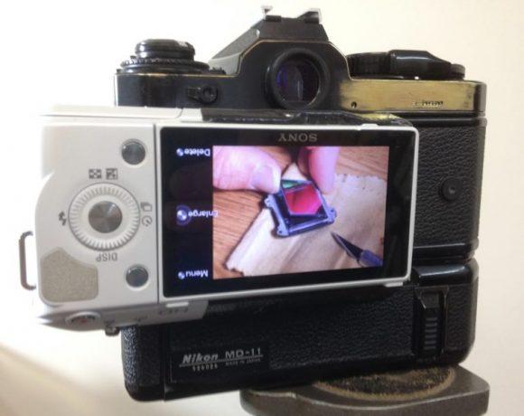 Convierte una cámara réflex analógica en réflex digital