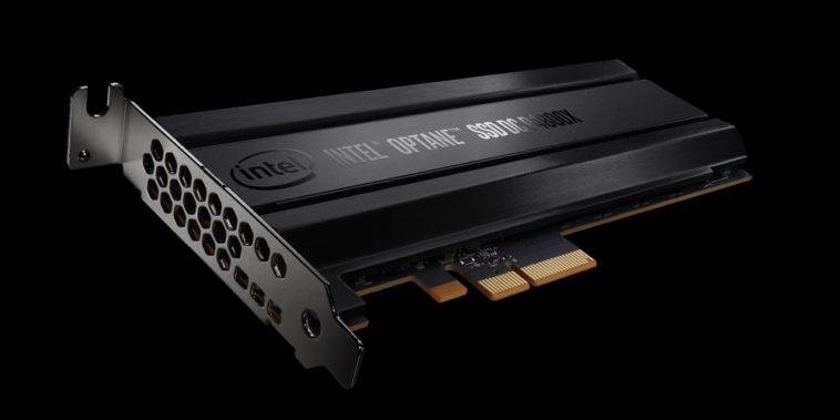 Intel Optane: SSD de 375 GB que se puede usar como RAM