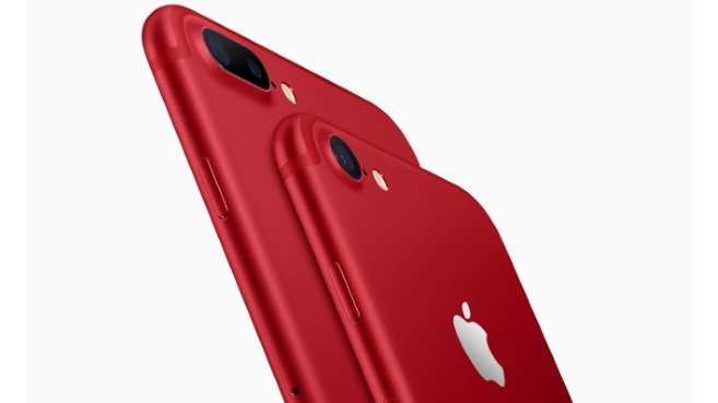 Nuevos iPhone 7 y iPhone 7 Plus (PRODUCT)RED Special Edition