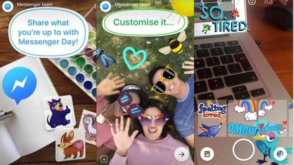 Otra imitación a Snapchat: Facebook lanza Messenger Day para compartir publicaciones efímeras