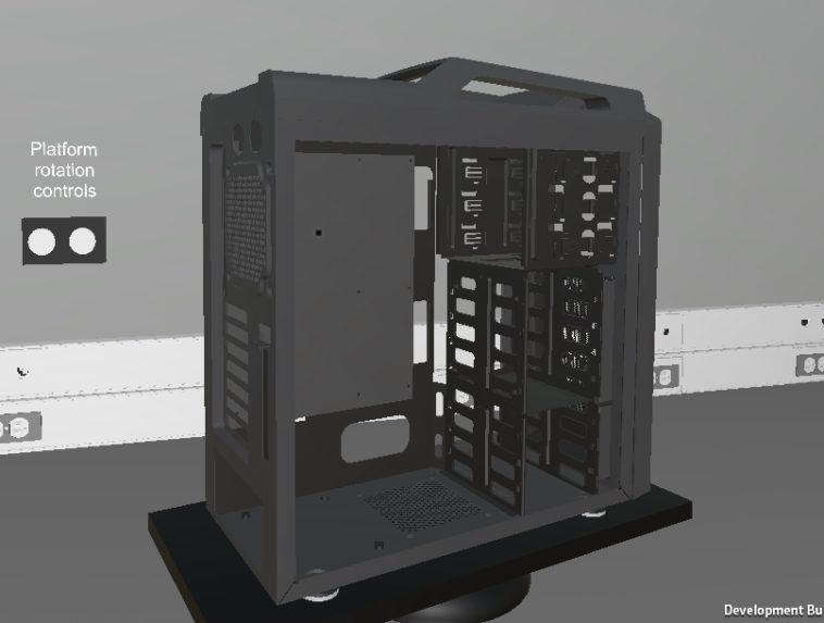 PC Building Simulator: Cómo armar una PC, en un videojuego