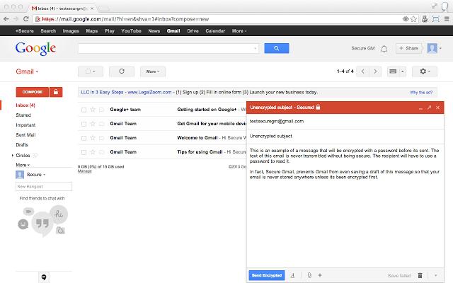 SecureGmail: Aumenta la seguridad en tus correos de Gmail