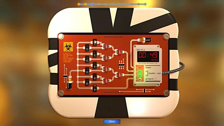 Bomb Squad Academy: Aprende electrónica mientras desactivas bombas