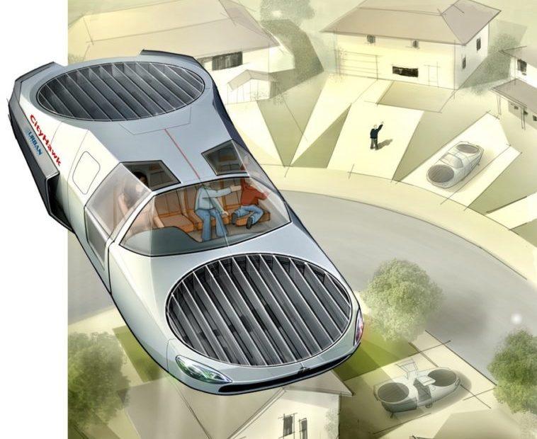 CityHawk: Concepto de coche volador VTOL