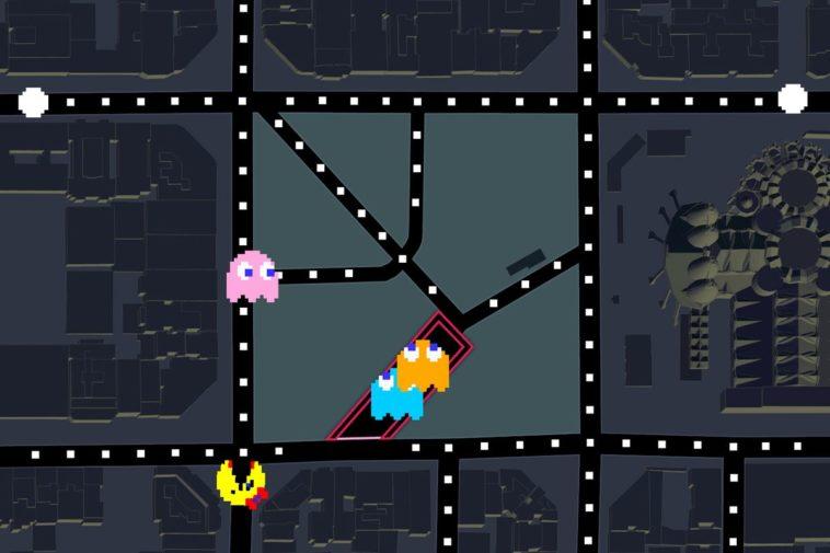 Cómo jugar a Ms. Pac-Man en Google Maps