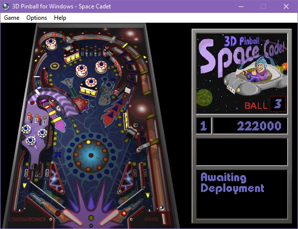 Cómo jugar al clásico 3D Pinball Space Cadet en ordenadores modernos