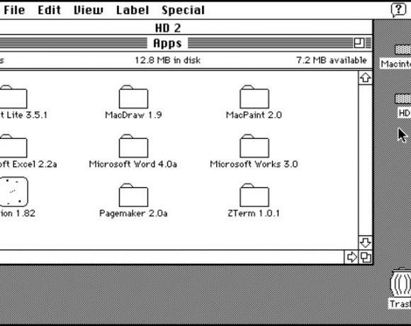 Emulador de Mac OS 7, directo en tu navegador