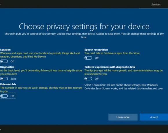 Microsoft comparte detalles sobre la información recolectada en Windows 10