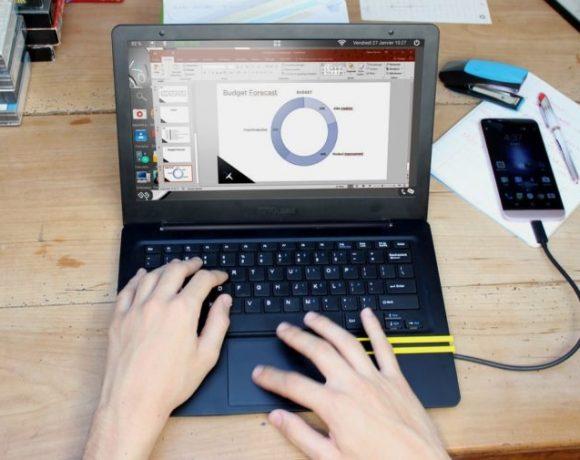 Mirabook: Portátil que aprovecha la potencia de tu móvil