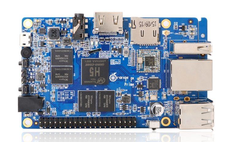 Orange Pi Prime: Un nuevo oponente para el Raspberry Pi 3