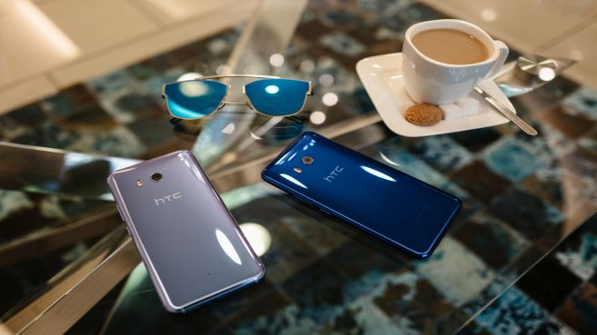 Nuevo HTC U11, el primer smartphone del mundo con borde táctil