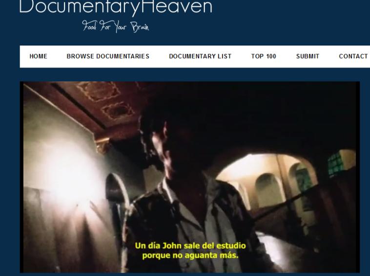 Sitios para ver documentales gratis