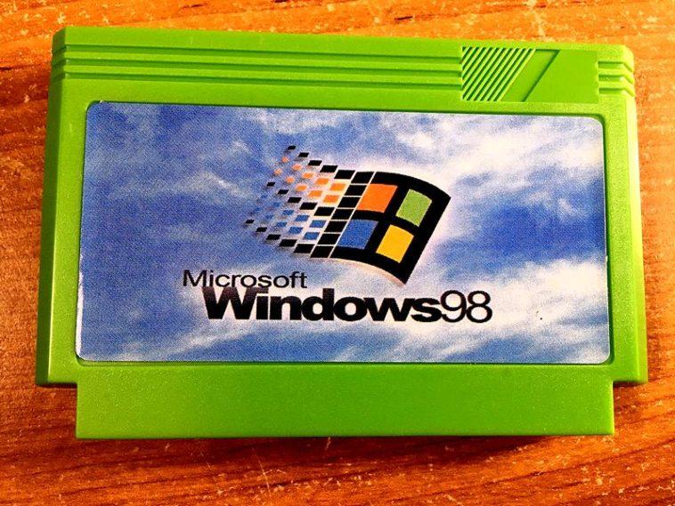 """""""Windows 98"""" y """"Windows 2000"""" para Famicom: Los sistemas operativos falsos en la consola de Nintedo"""