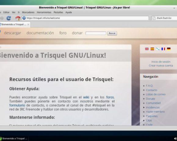 Trisquel Linux: Una distro realmente libre