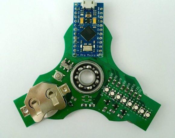 Lightino: Un Fidget Spinner de código abierto totalmente programable