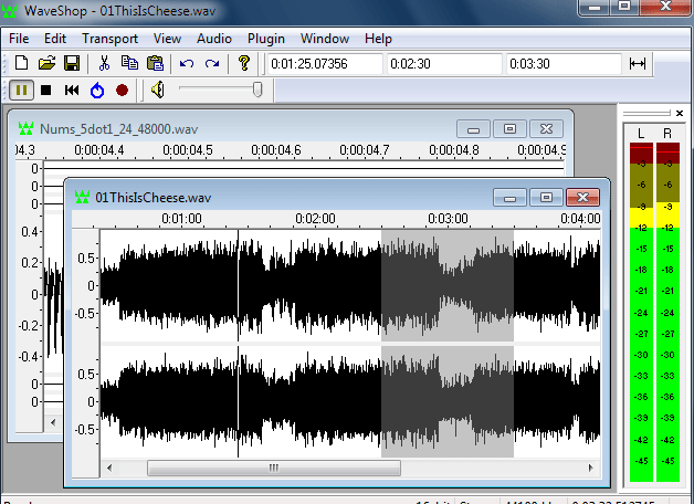 Programas para editar archivos WAV