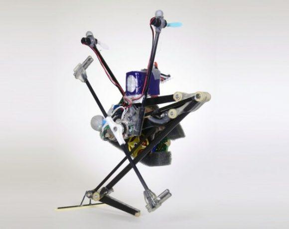 Salto-1P: El robot que practica parkour, cada vez más ágil
