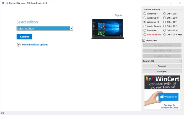 Cómo descargar las imágenes ISO de Windows y Office