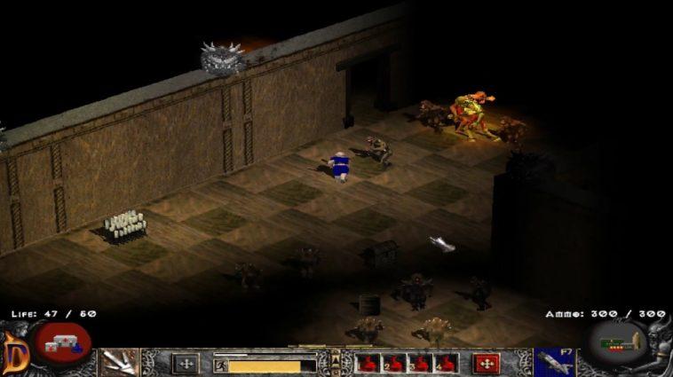 Doomiablo: Doom 2 con el motor gráfico del Diablo 2