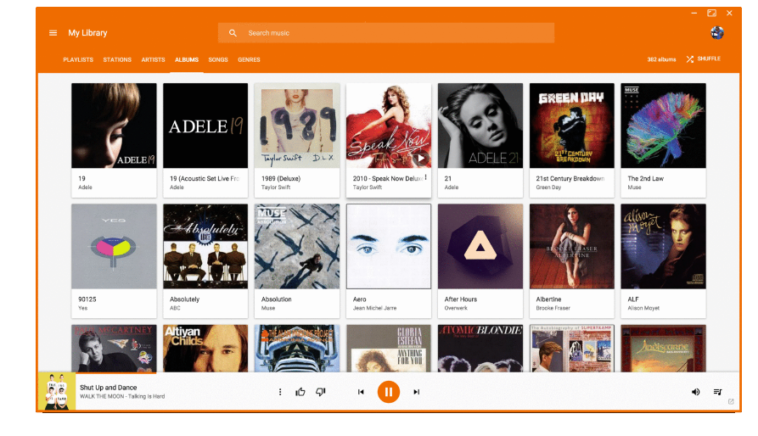 Google Play Music Desktop Player: Reproducir música de Google Play Music y Last.fm