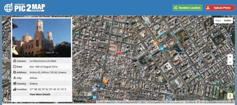 Pic2Map: Descubre dónde fue tomada una fotografía