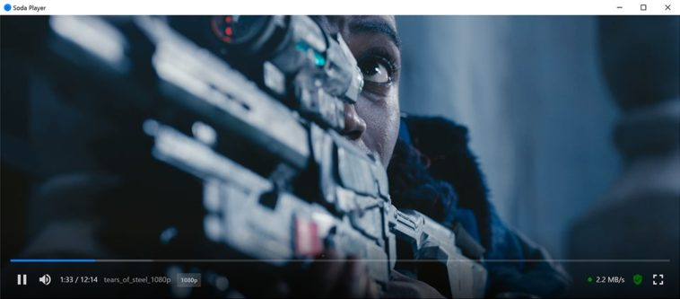 Soda Player: Excelente reproductor de vídeo que abre torrents online