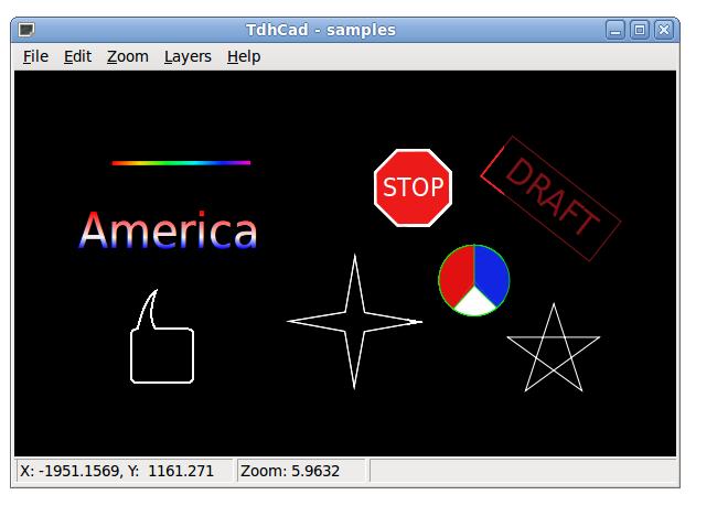 ThdCad: Gráficos vectoriales CAD para principiantes