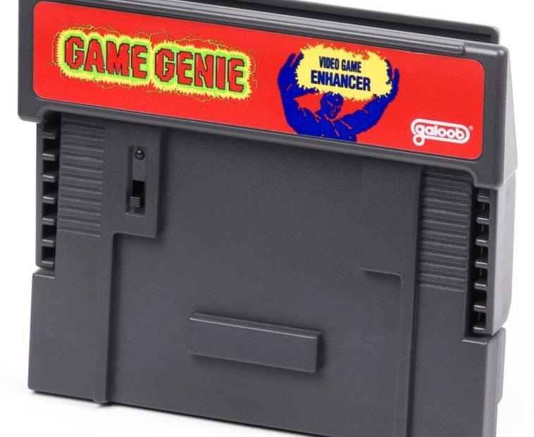¿Cómo funcionaba el sistema de trucos «Game Genie»?