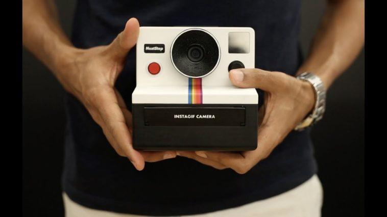 Instagif: Una cámara DIY que imprime GIFs de forma instantánea