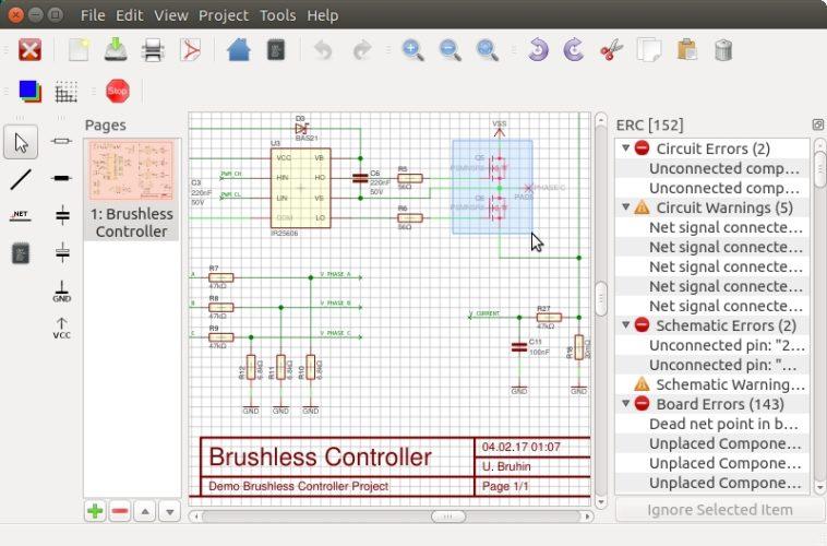 LibrePCB: Un programa open source para diseñar circuitos