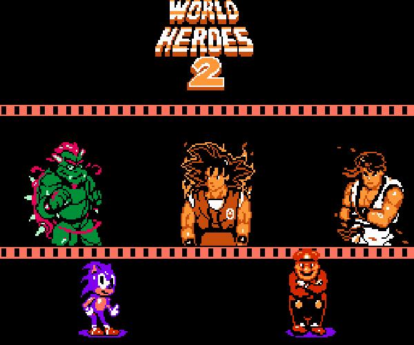 Los mejores juegos piratas de pelea para Nintendo NES (bootleg)
