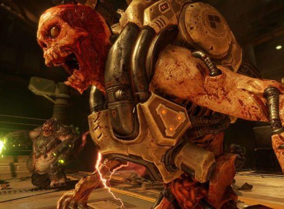 Observa al nuevo Doom en la Nintendo Switch