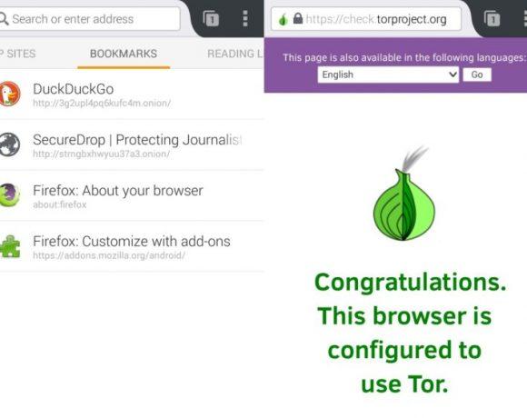 Orfox: Un navegador Tor para Android
