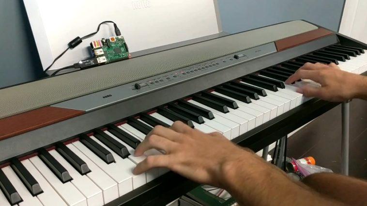 PianoAI: Una inteligencia artificial con un Raspberry Pi aprende a tocar el piano