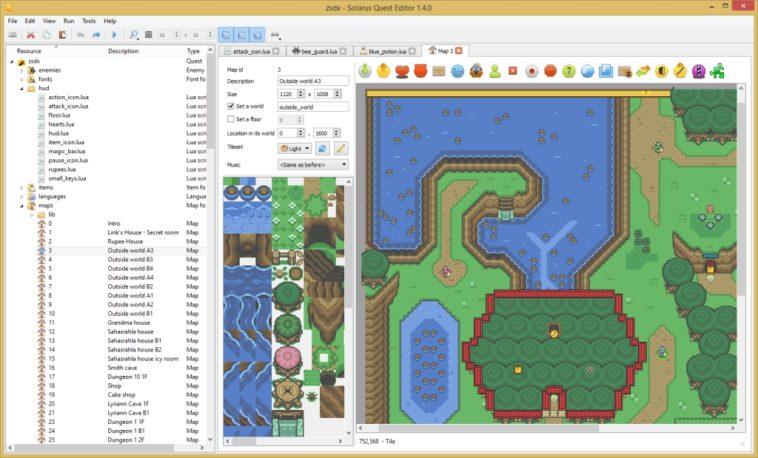 Solarus: Un motor gratuito para crear tus propios juegos al estilo «The Legend of Zelda»