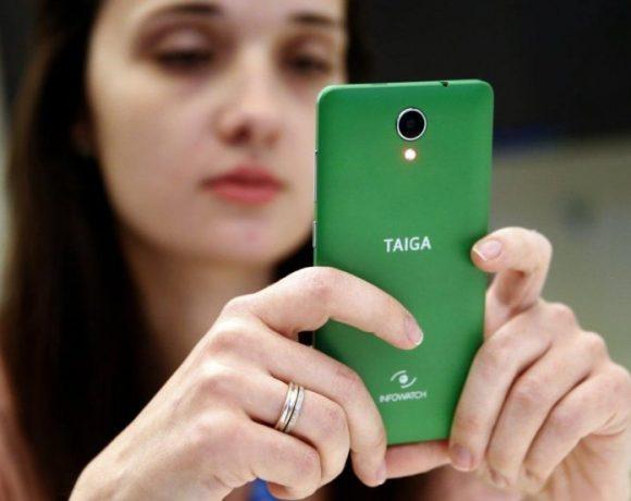 Taiga: Smartphone ruso a prueba de vigilancia