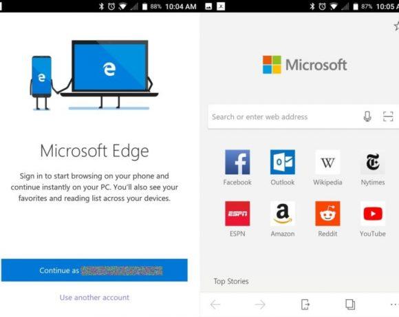 Descarga Edge, el navegador de Microsoft… para Android