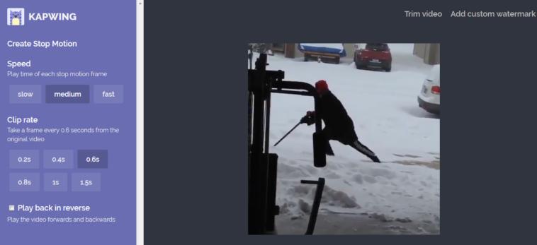 """Cómo convertir tus vídeos en """"stop motion"""" de forma simple"""