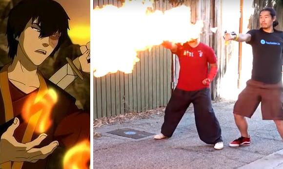 Estos lanzallamas activados por golpes te convertirán en un verdadero Maestro de Fuego
