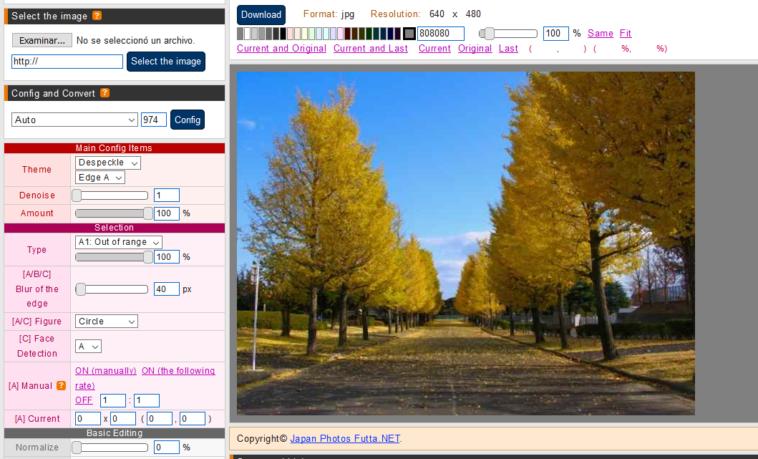 Herramientas online para reducir el ruido en las imágenes