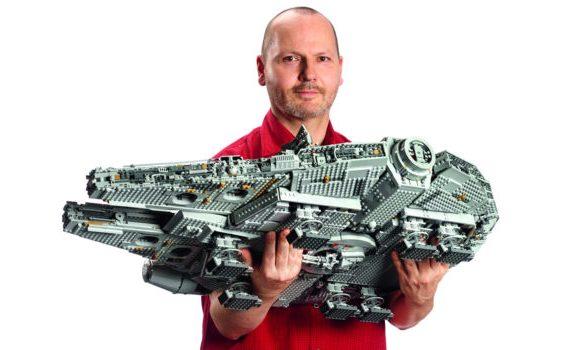 LEGO lanzará el Halcón Milenario más grande en su historia (7541 piezas)