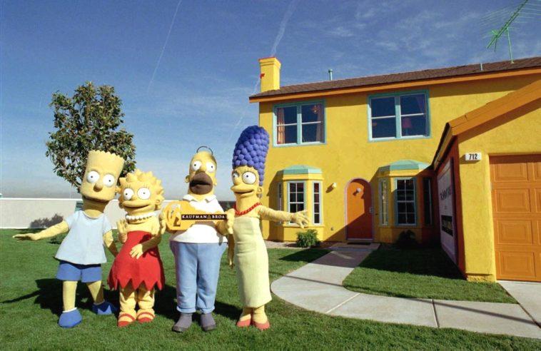 Los Simpsons: La réplica de la casa Simpson que el tiempo olvidó