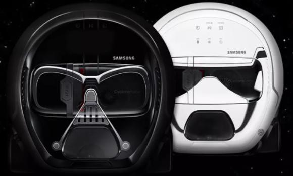 Samsung lanza una línea de aspiradoras de Star Wars
