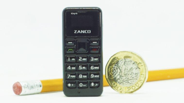Zanco Tiny T1: El teléfono móvil más pequeño del universo