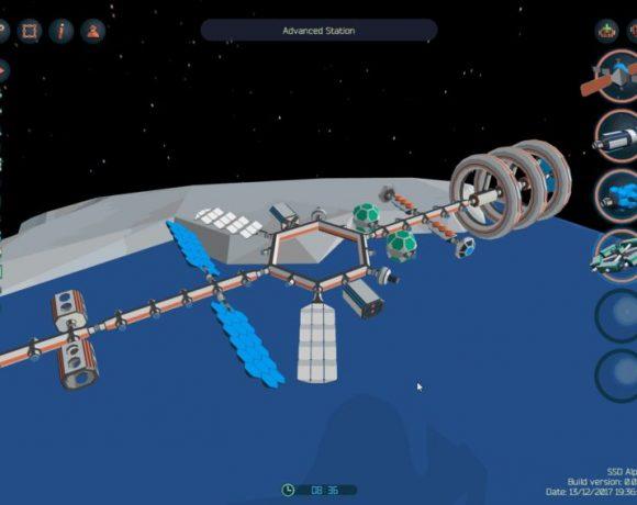 Space Station Designer: Un juego para diseñar tus propias estaciones espaciales